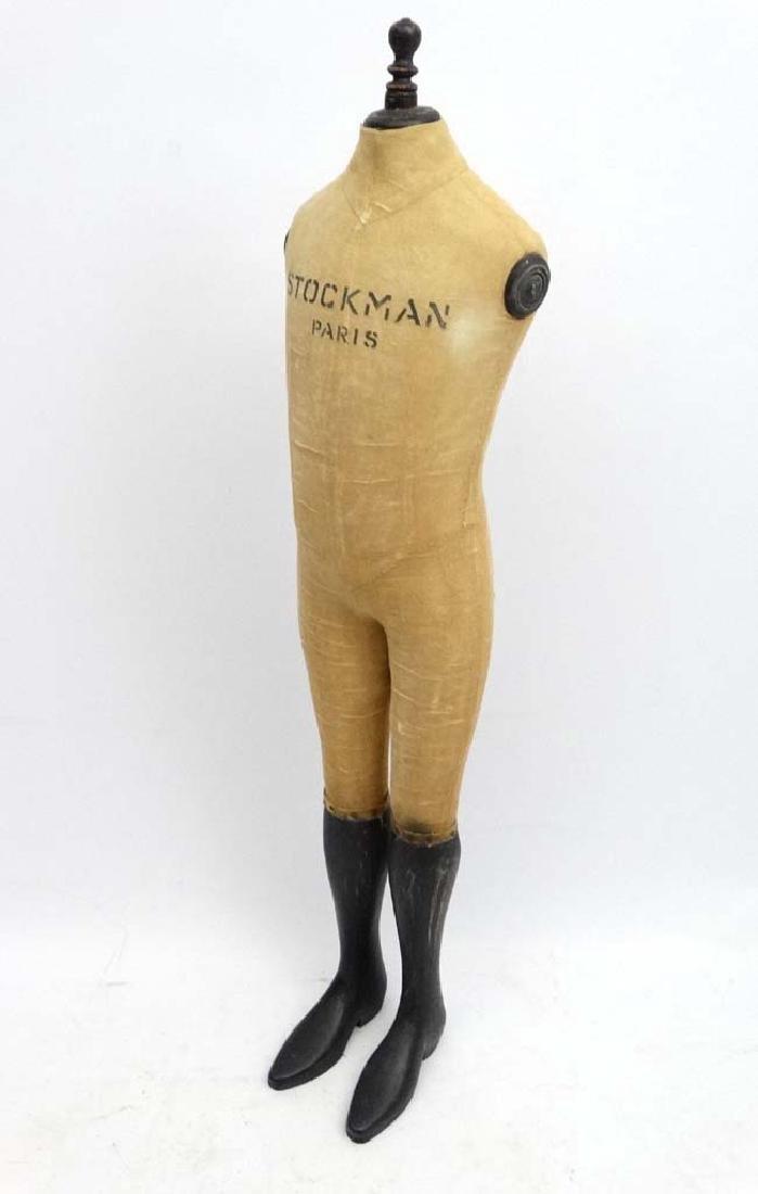 A 'Stockman , Paris '  shop advertising mannequin. 51'' - 3