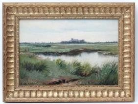 Attributed to C. A. Mallon, Oil on board, Extensive