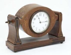 Buren Swivel Mantle Clock ( Timepiece ) : an inlaid