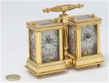 A miniature Carriage Desk Compendium Set : a 21 st C