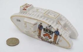 Crestedware: A Carlton China model of a World War 1
