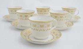 A Minton 'Jubilee' pattern tea set , number H5250,