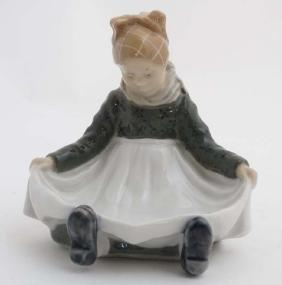 A c1956 Royal Copenhagen Figure '' Fanoe Girl '' ,