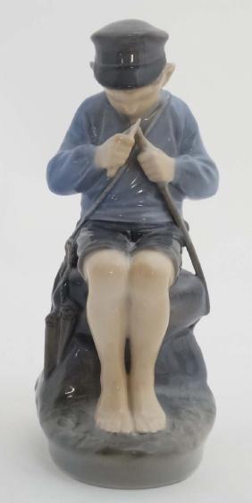 A c1958 Royal Copenhagen Figure of a Shepherd Boy