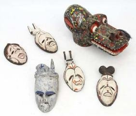 Ethnographic Native Tribal: a quantity of African head
