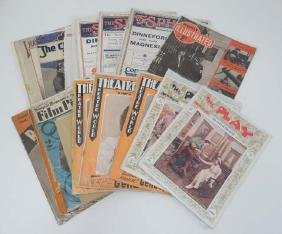 A collection of 22 1920s and 1930s Magazines and Song