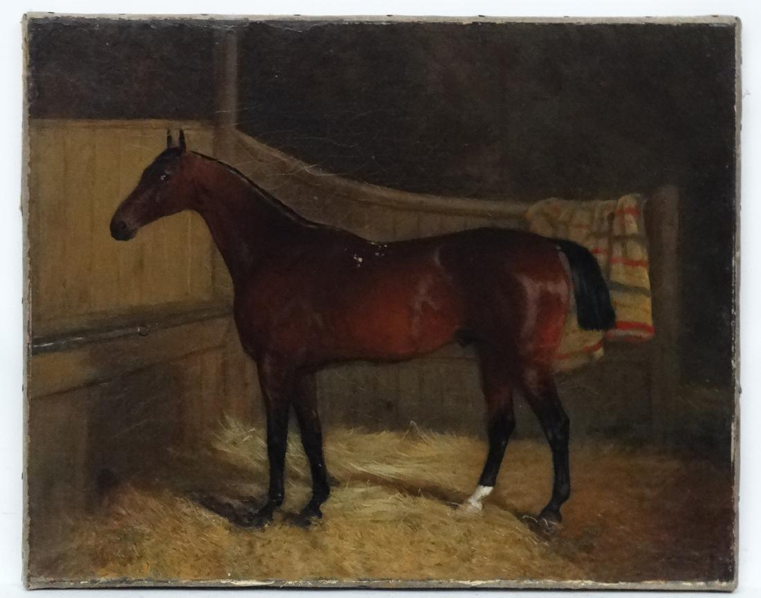 John Duvall , Ipswich (1816-1892) Oil on canvas ,