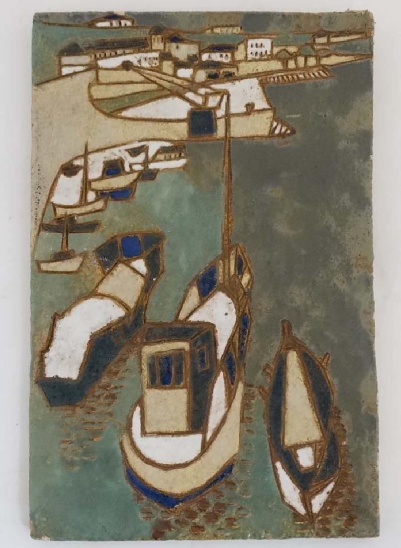 An Isabelle Ferlay (1917- ) , '' Les Argonautes ''