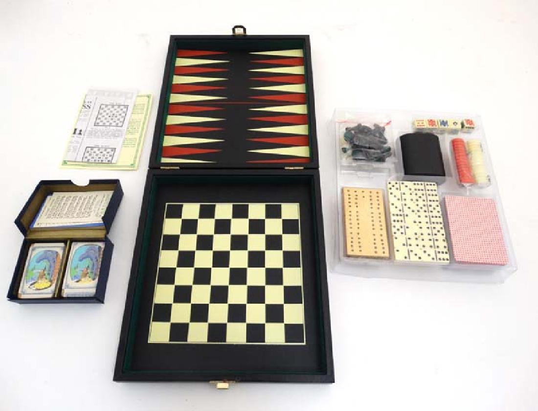 Toys: A c1933 W.D. & H.O. Wills Selected Patience games