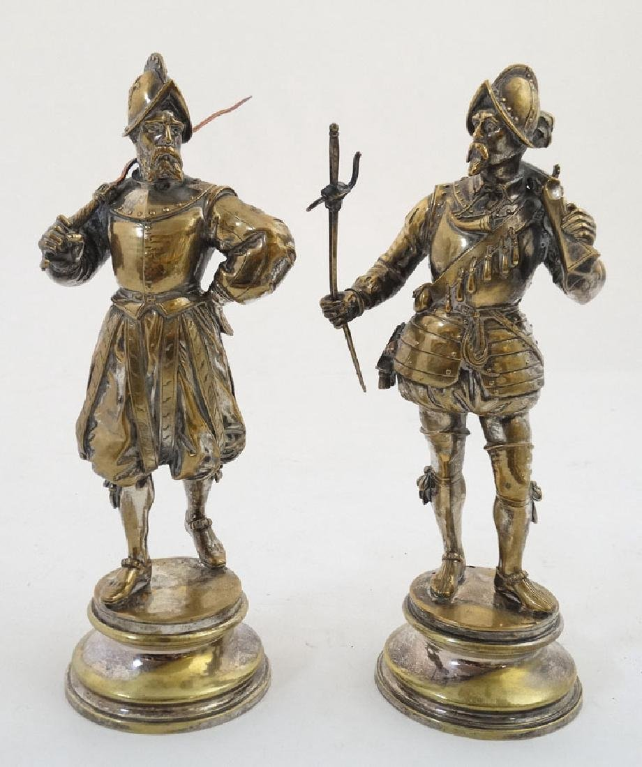 A pair of French / Spanish Conquistadors wearing