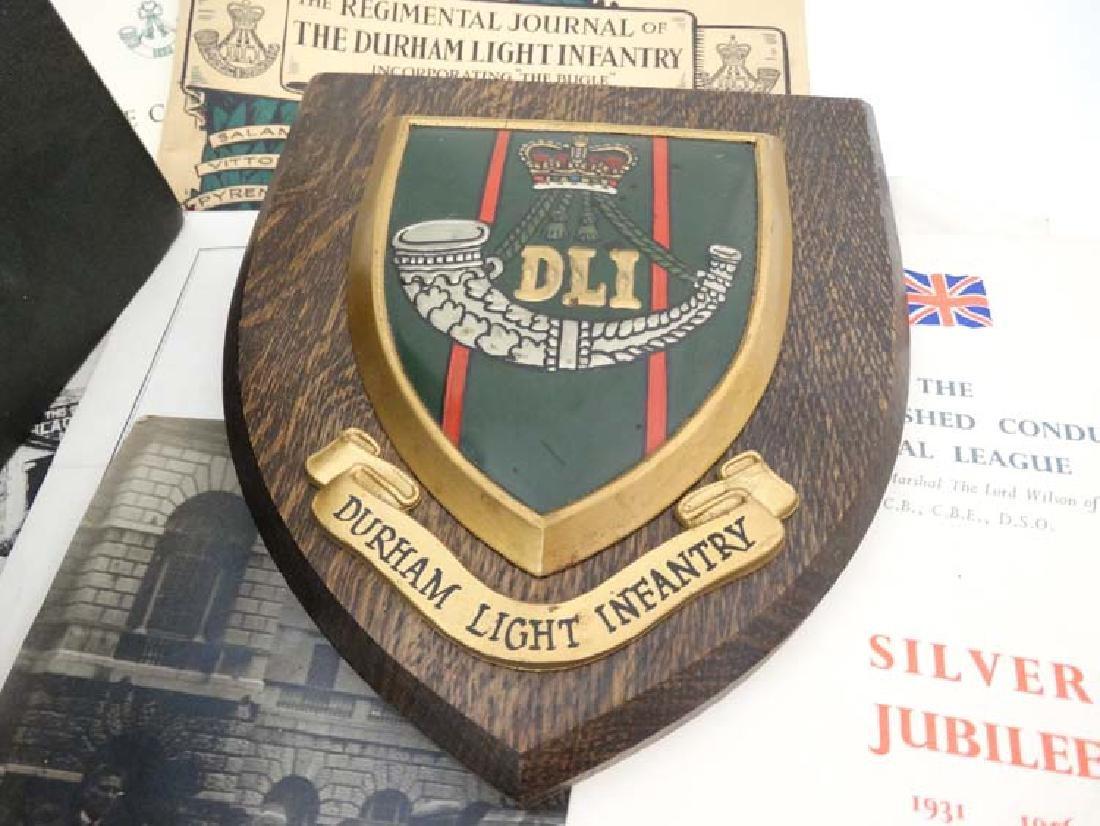 Militaria : Warrant Officer John Luke DCM MM , Durham - 2