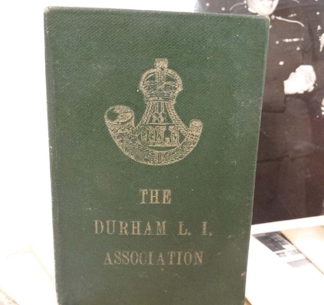 Militaria : Warrant Officer John Luke DCM MM , Durham - 8