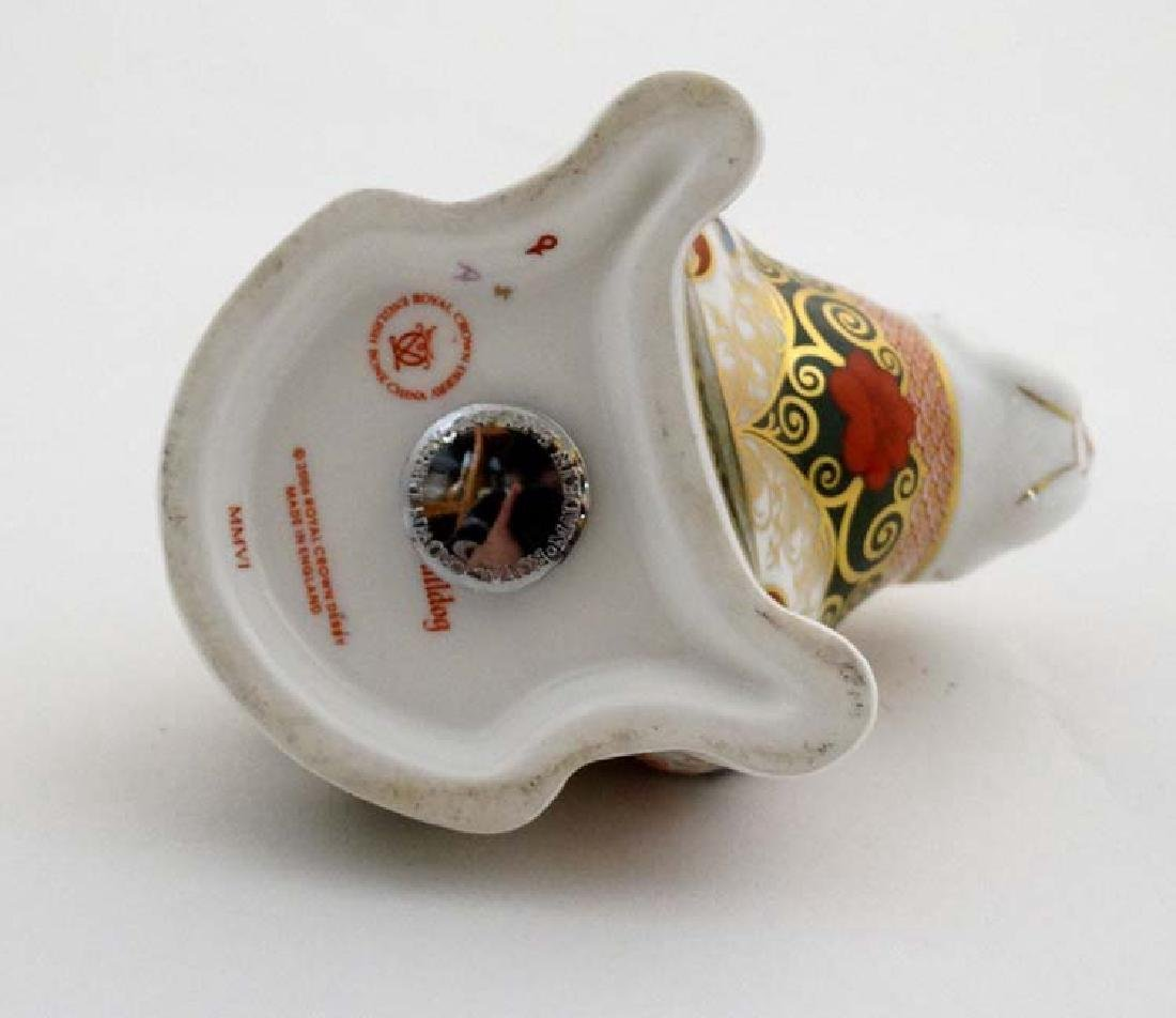 Two Royal Crown Derby paperweights. One formed as a Pig - 10