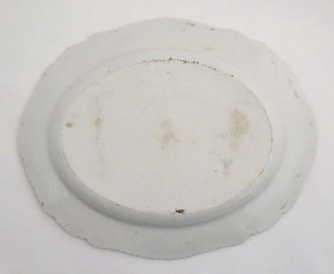 An 1813-1840 Worcester Flight, Barr & Barr meat plate , - 3