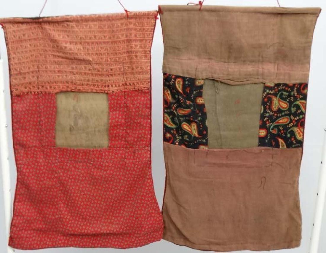 Thangka - two wall hanging silk thangka, one depicting - 2
