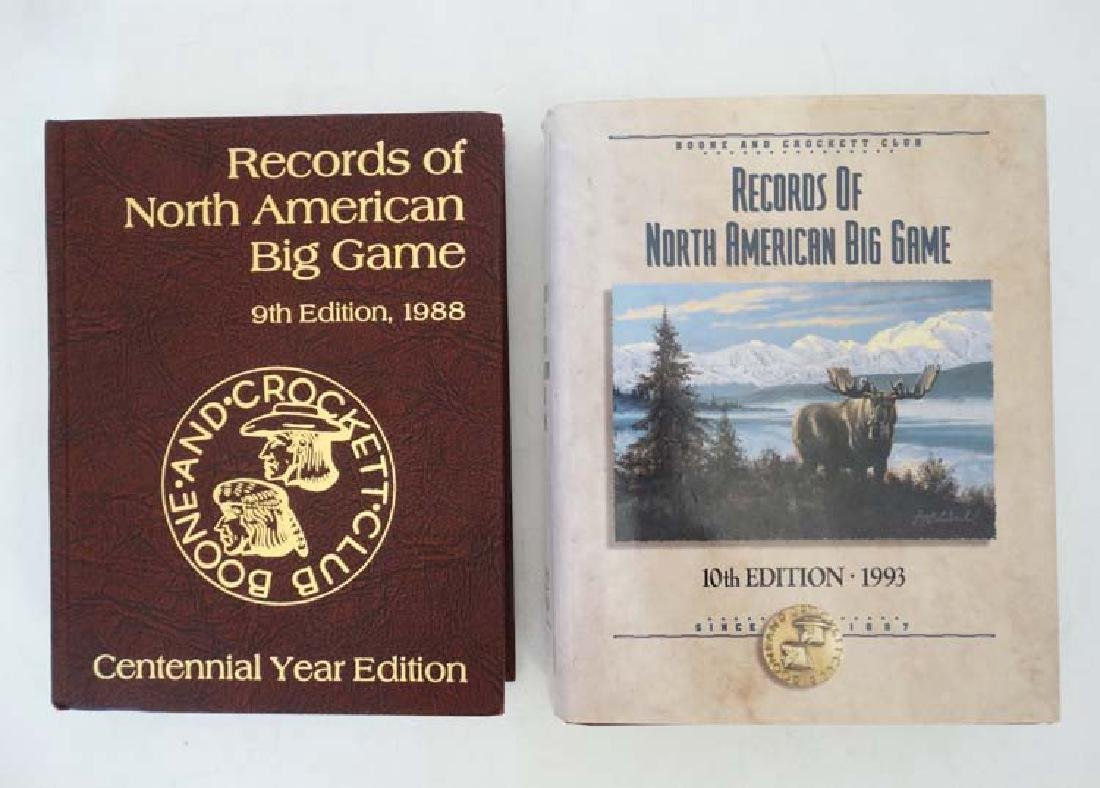 Books: Two editions of '' Records of North American Big