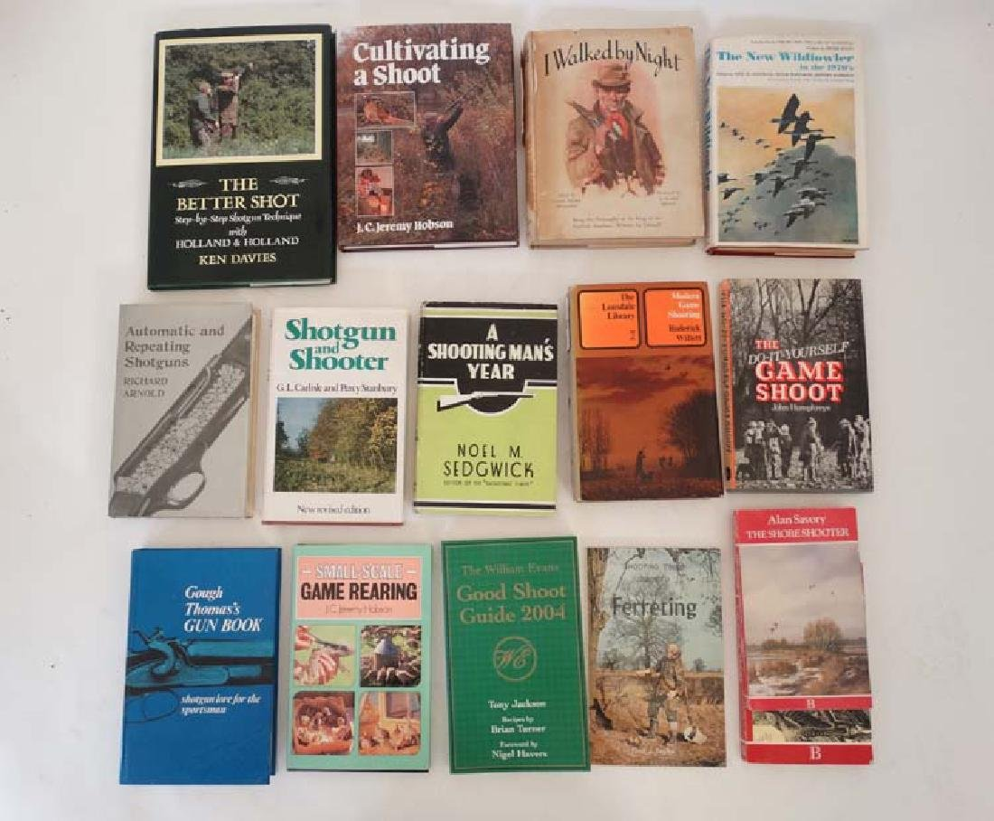 Books: A collection of 14 Sporting Books to include: ''