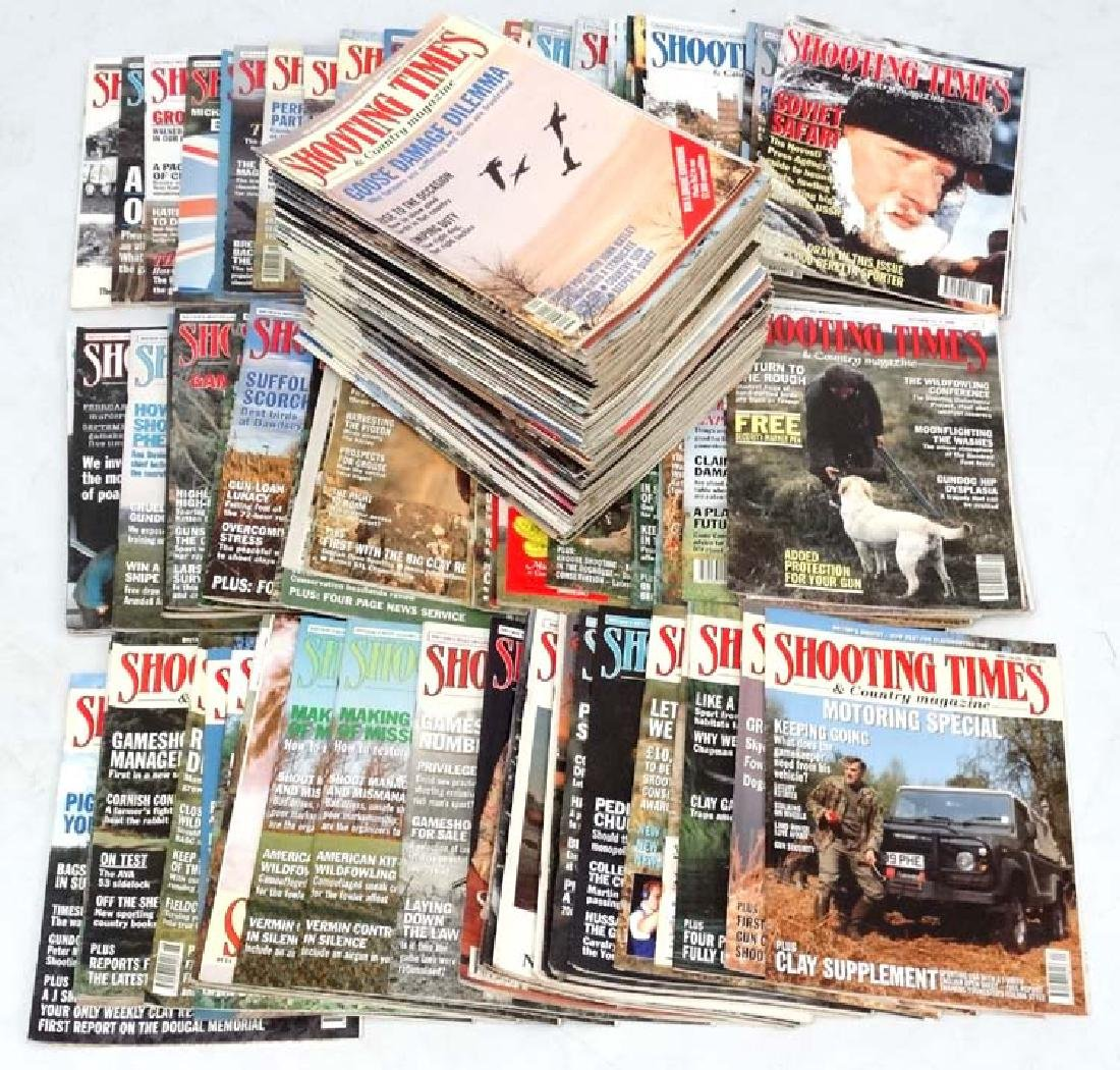 A large collection of '' Shooting Times & Country