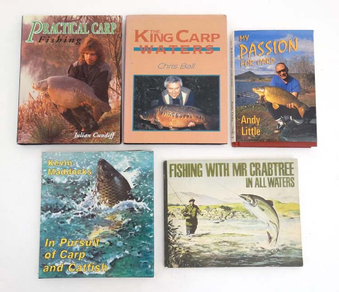 Fishing books: A collection of 5 books on fishing , to