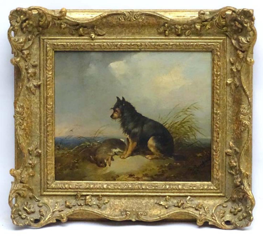 G Armfield XIX Canine School, Oil on canvas, A Black