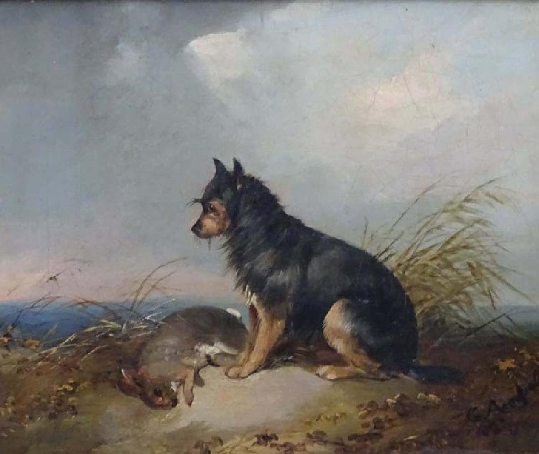G Armfield XIX Canine School, Oil on canvas, A Black - 4