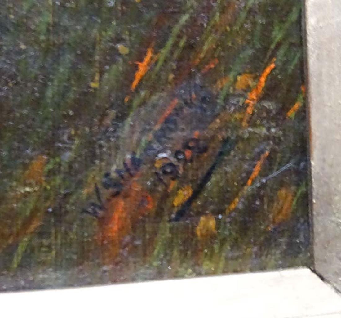 W Sharrocks  1922 Canine School, Oil on canvas board, - 6