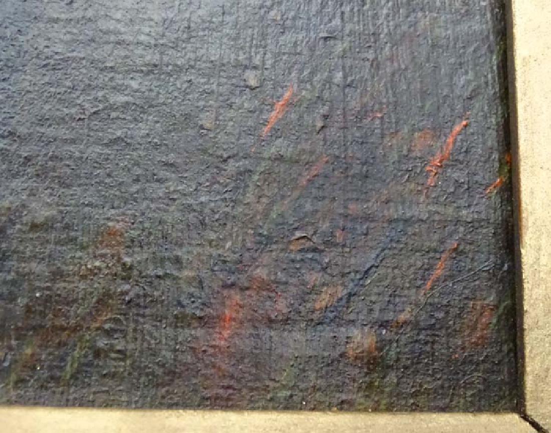 W Sharrocks  1922 Canine School, Oil on canvas board, - 7