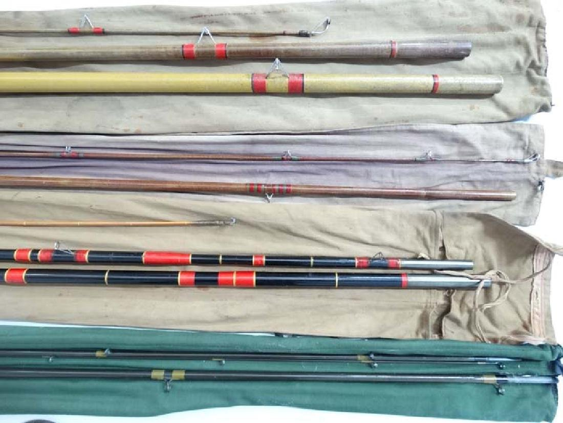 Fishing : a cloth cased Milbro milbrolite 12 ft  course - 2