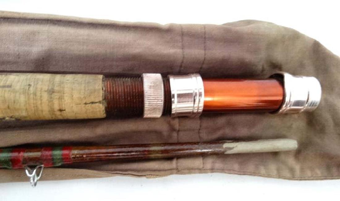 Fishing : a cloth cased Milbro milbrolite 12 ft  course - 4