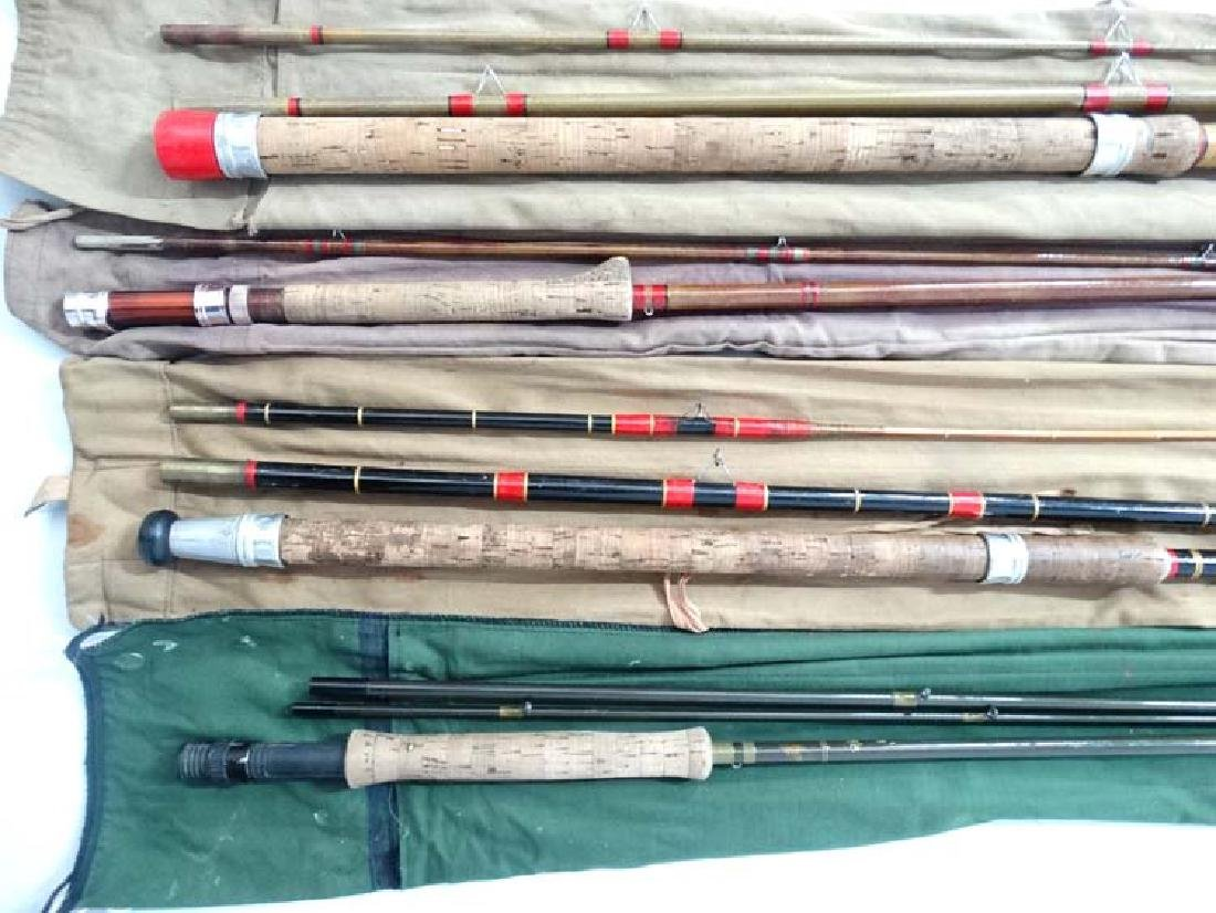 Fishing : a cloth cased Milbro milbrolite 12 ft  course - 7