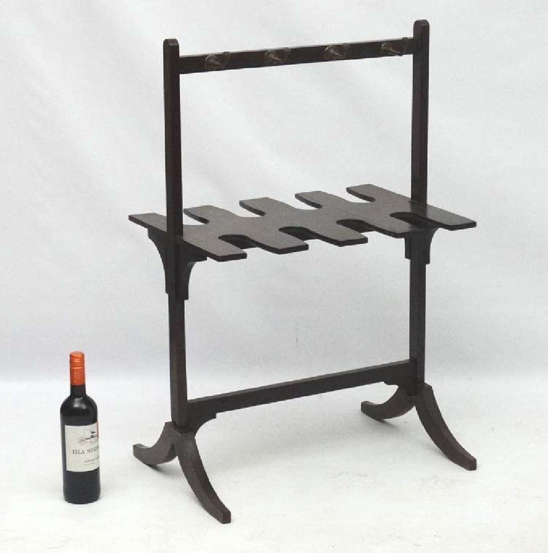 A late Georgian Mahogany Whip- Rack ( and boot rack