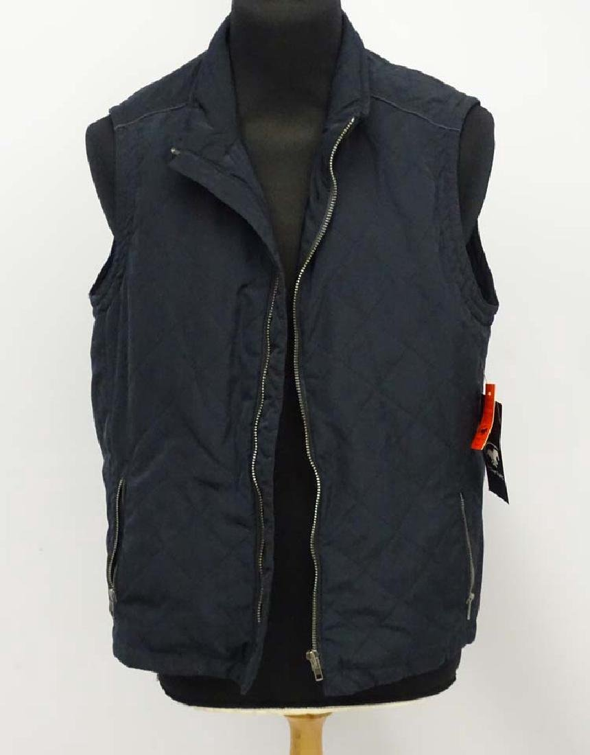 Power Field navy gilet/vest, size XL, with original tag