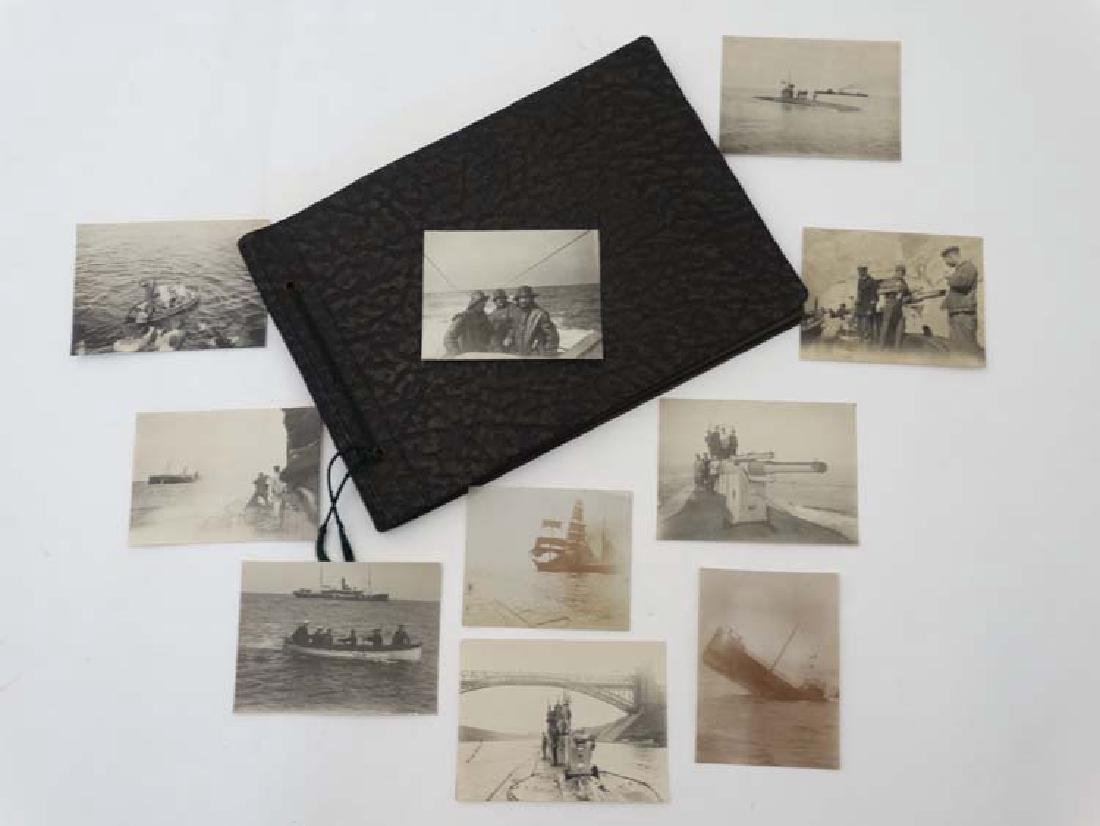 An Extremely Rare WWI Photograph Album : German  U -
