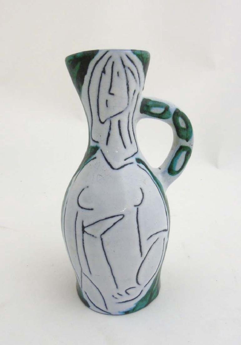 A 1950s French pitcher in the manner of Jacques