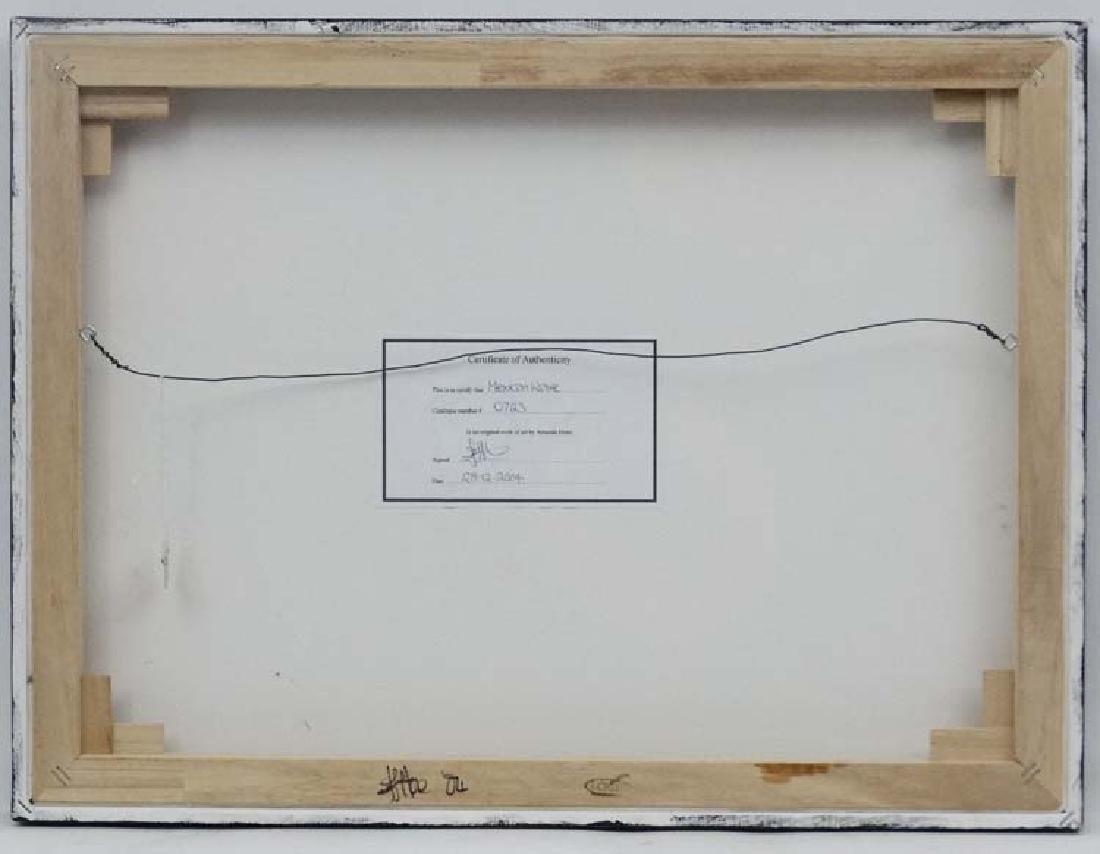 Amanda Hone (1964), Acrylic on box canvas 2004, ' - 3