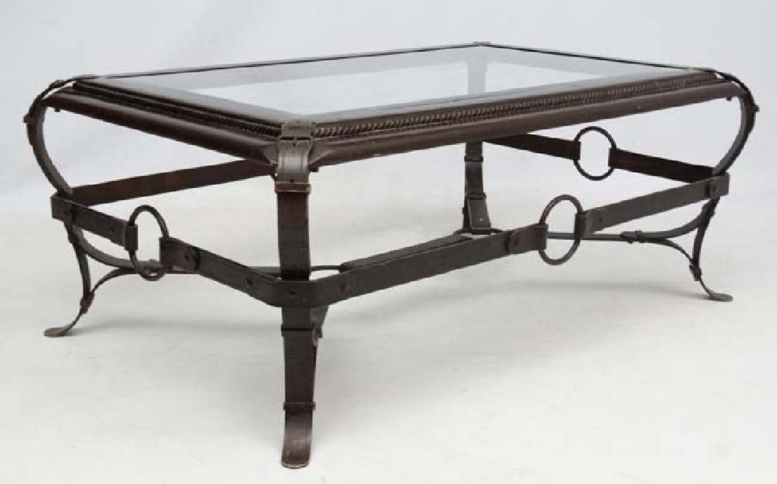 Mid Century Modern :  a Jacques Adnet style, Hermes