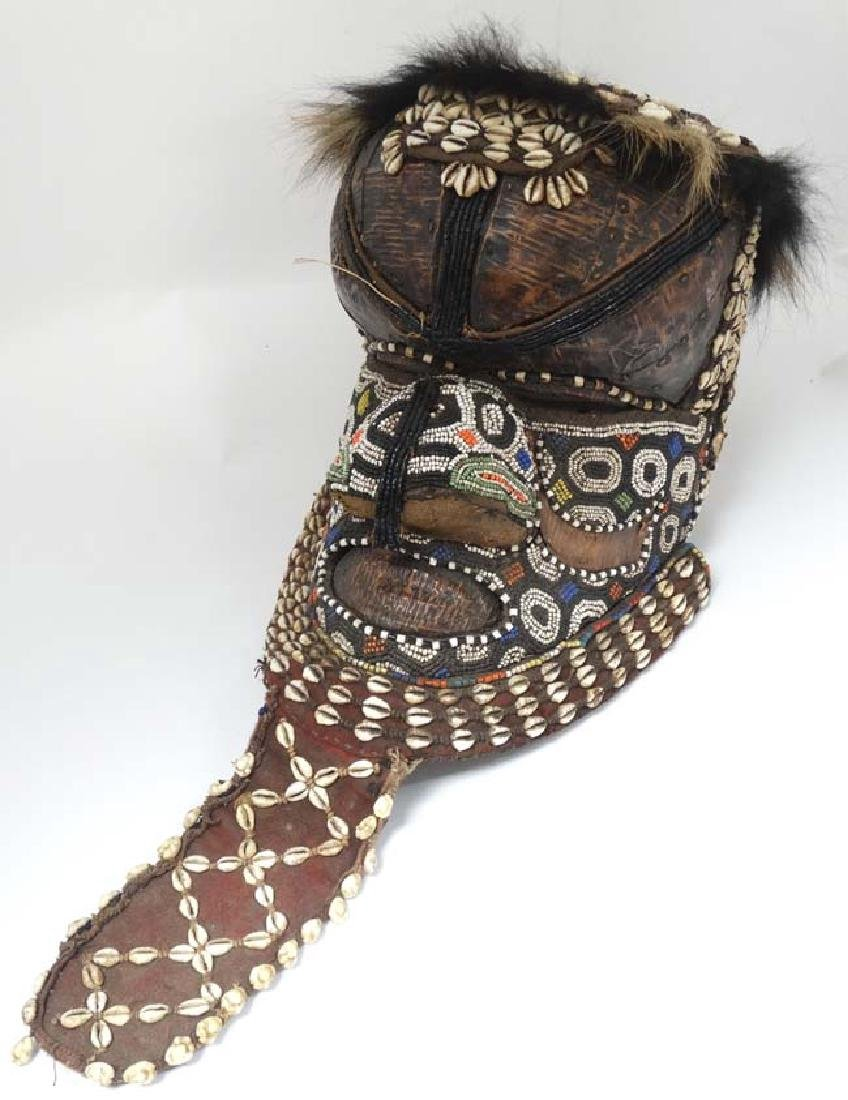 Ethnographic Native Tribal : a African carved wooden