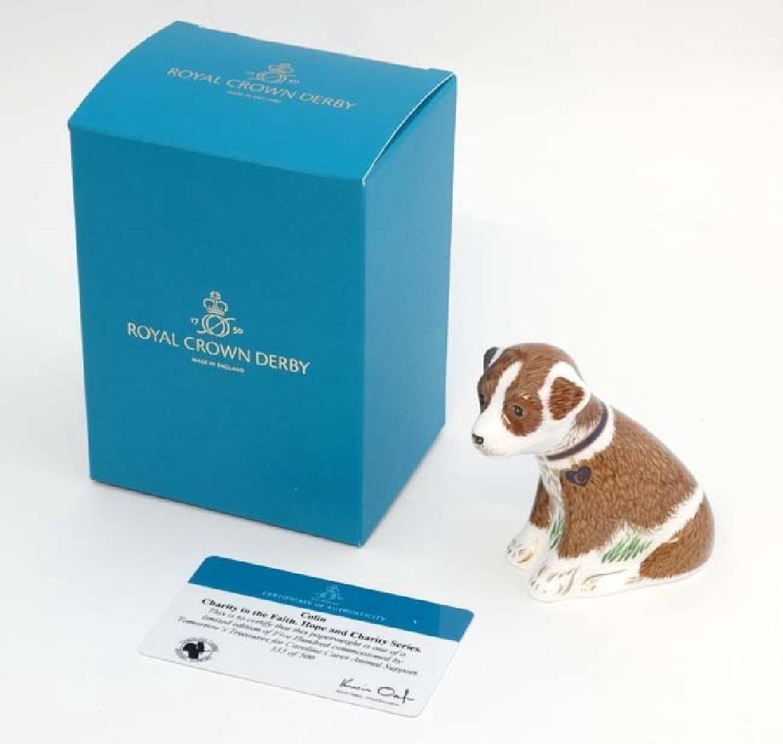 A Royal Crown Derby limited edition fine bone china