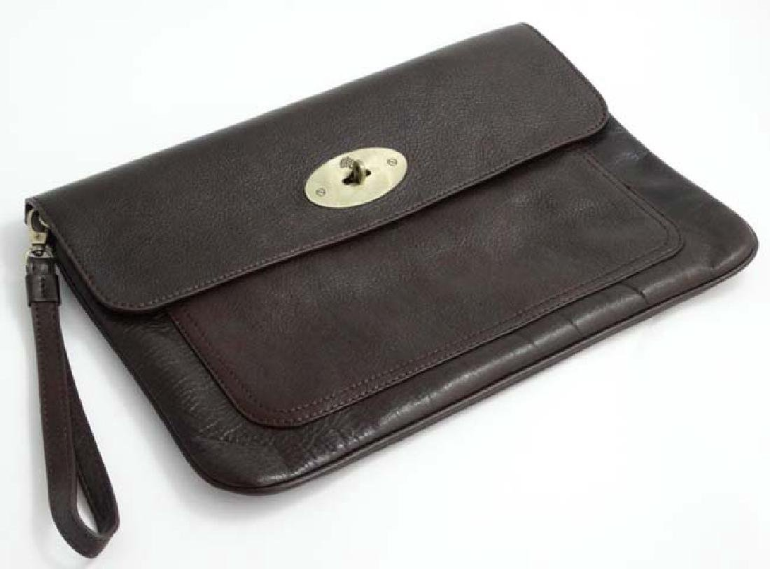 074cccb936ff ... good a brown leather mulberry bayswater laptop sleeve. 14 38372 33208