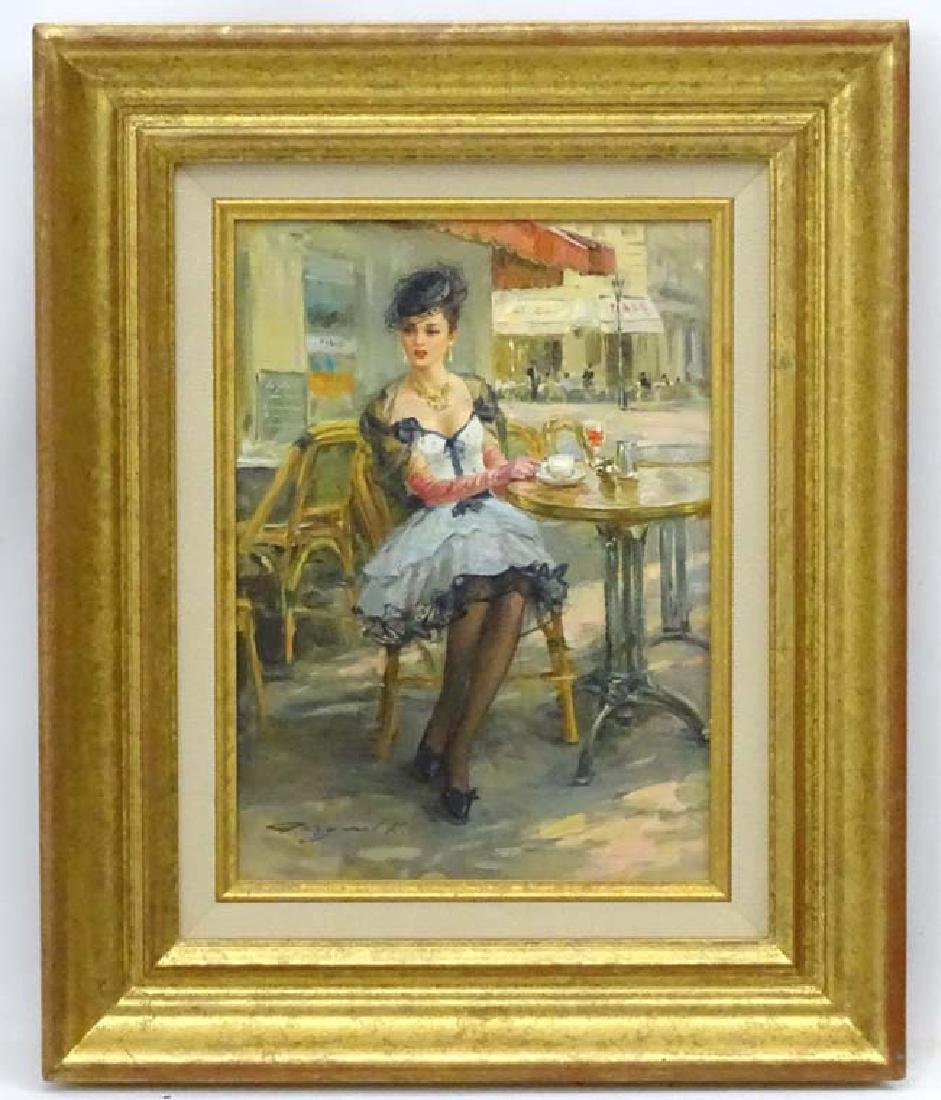 Konstantin Razumov (b.1974), Russian School  Oil on