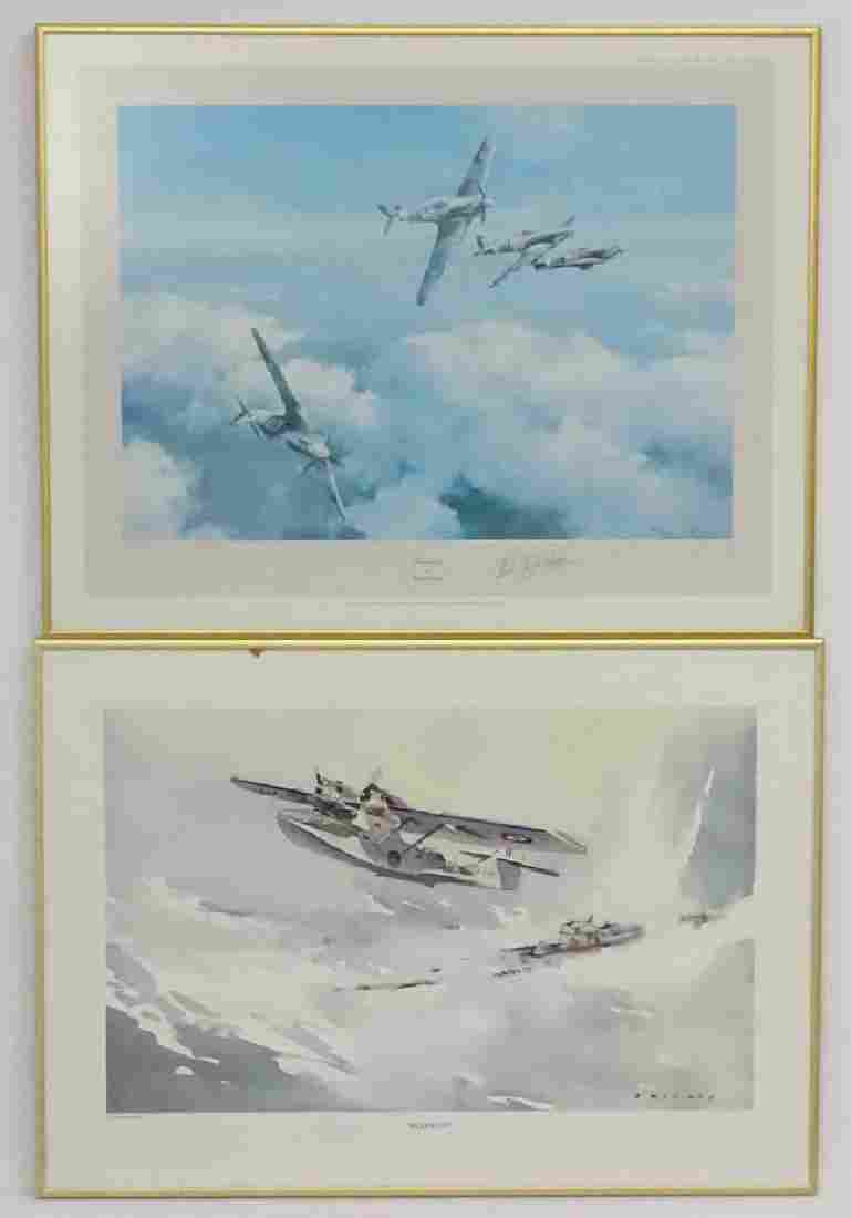 After Robert Taylor XX Signed by wing commander 1st