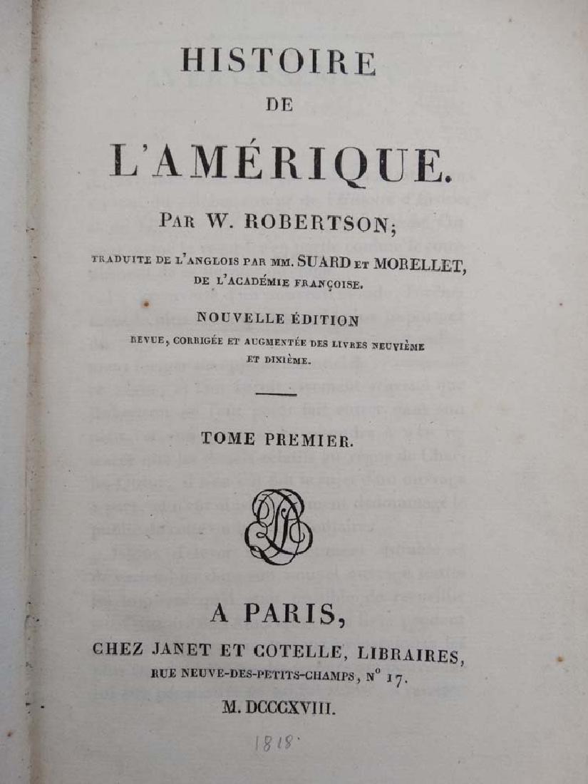 Books: Two books on 'Histoire de L' amerique' to - 5