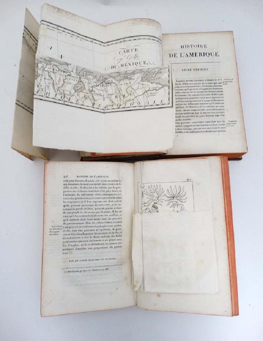 Books: Two books on 'Histoire de L' amerique' to - 6