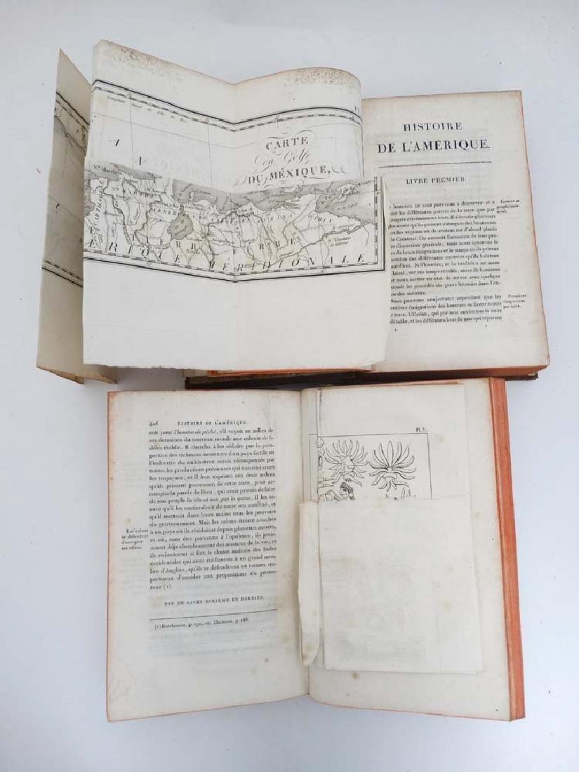 Books: Two books on 'Histoire de L' amerique' to - 7