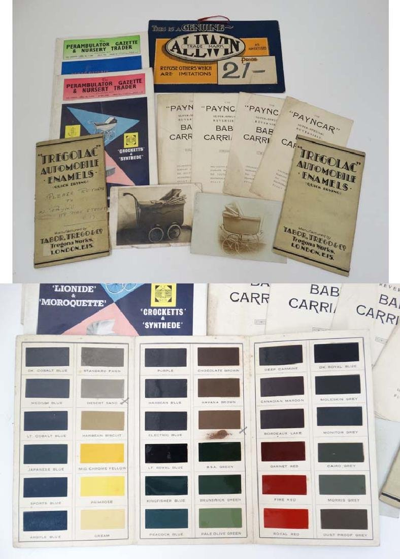 Ephemera: A collection of 1960s Perambulator