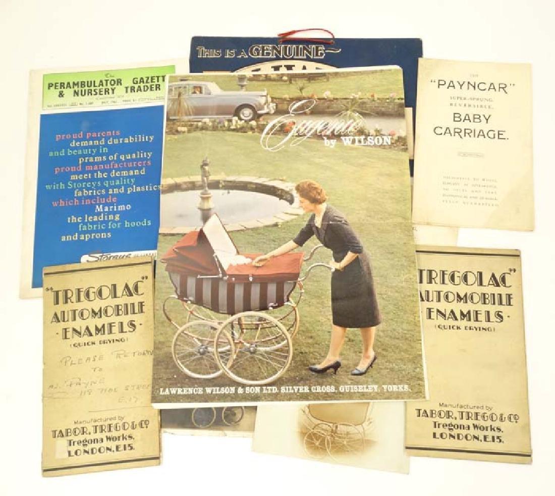 Ephemera: A collection of 1960s Perambulator - 4