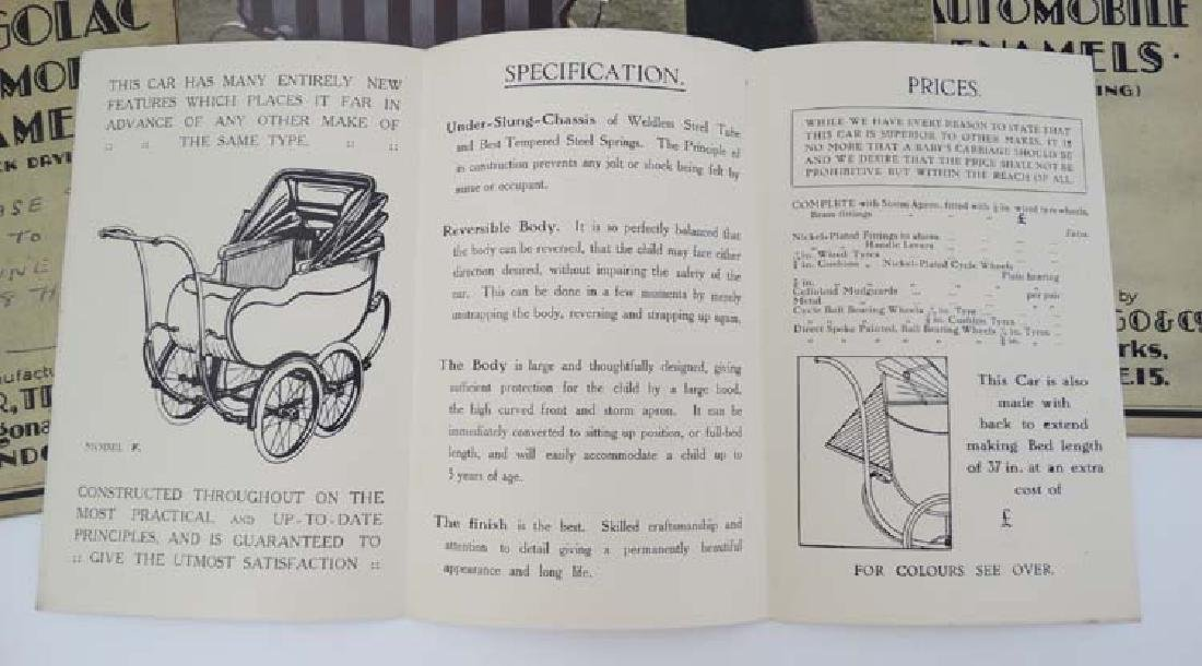 Ephemera: A collection of 1960s Perambulator - 5