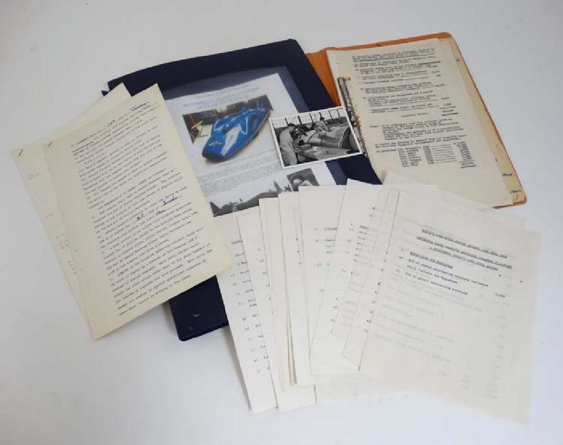 Land Speed Record , Donald Campbell and ' Bluebird