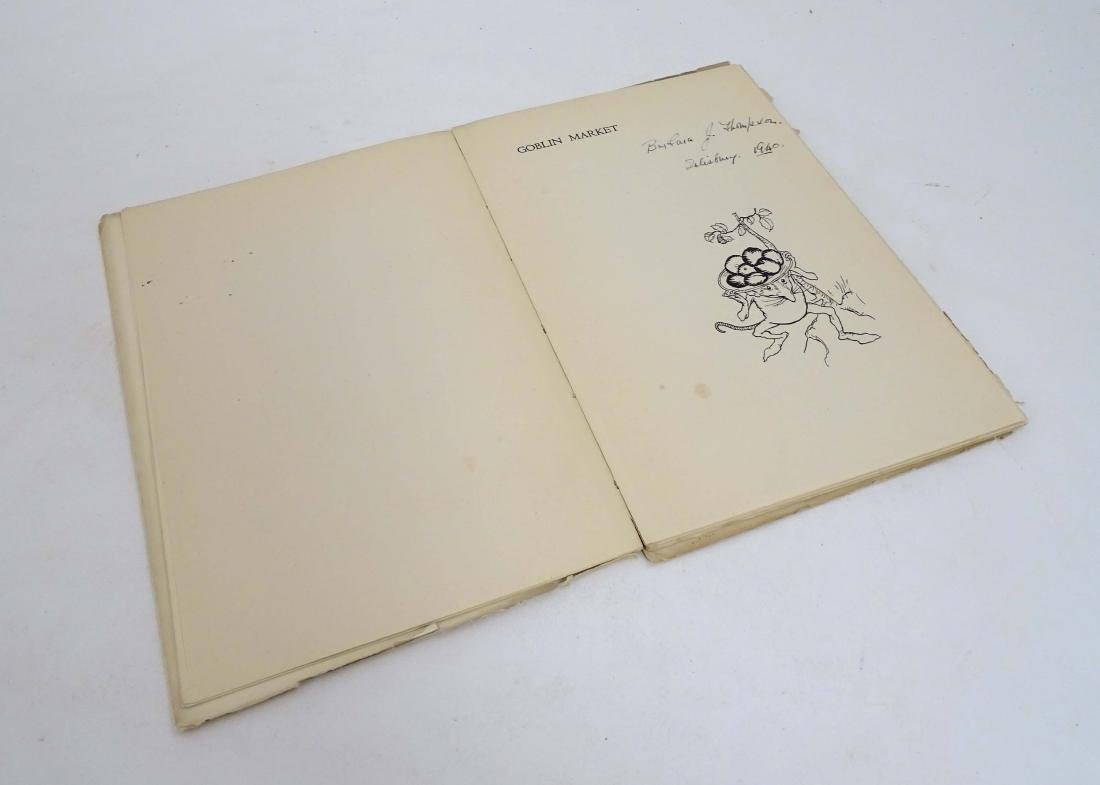 Ephemera: A Pre-Raphaelite poem 'Goblin Market' by - 3