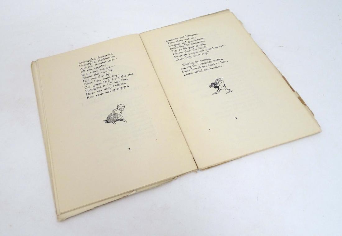 Ephemera: A Pre-Raphaelite poem 'Goblin Market' by - 4